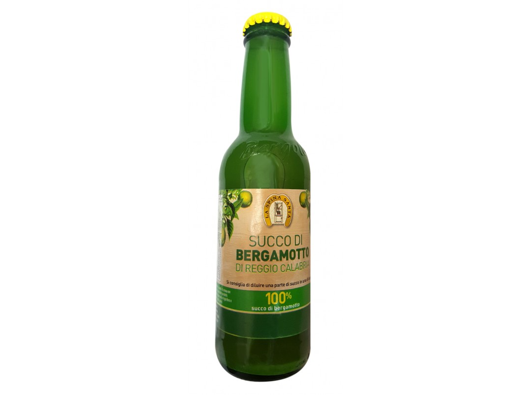 Succo di Bergamotto 100% Ml.200